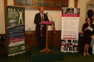 launch of Football United against domestic violence